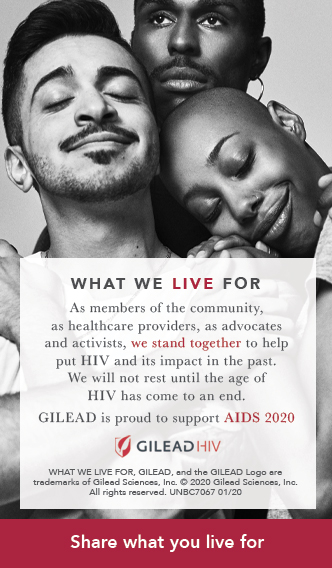 Gilead - Proud Supporter of AIDS 2020